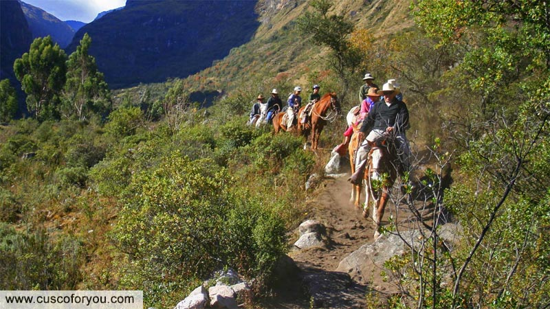 Horse riding in the Sacred Valley Cusco