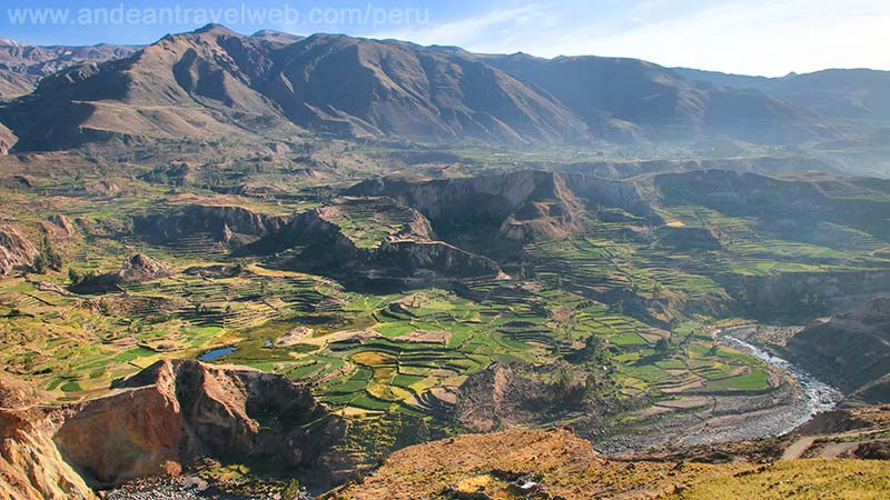 The Colca Canyon Arequipa Peru