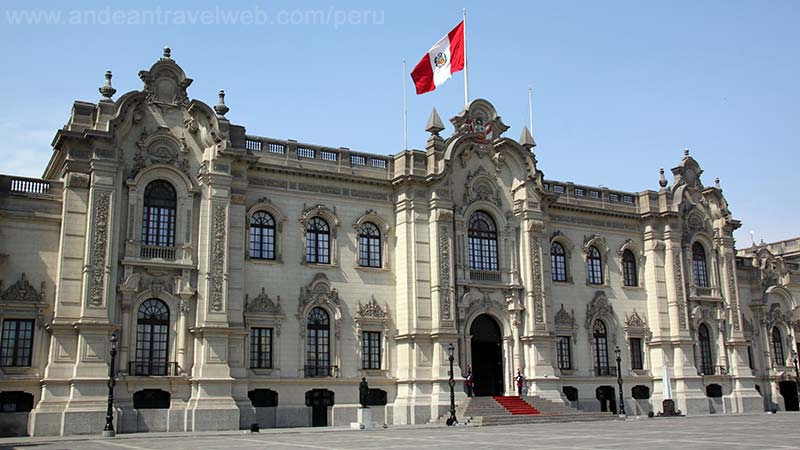 Government Palace, Plaza de Armas, Lima