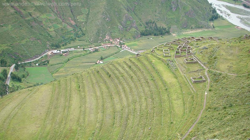 Pisac agricultural terraces, Sacred Valley