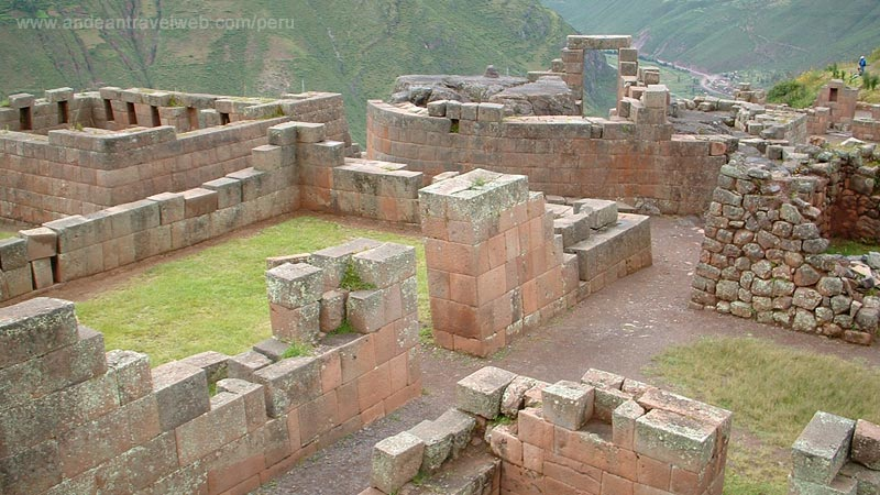 Inca Ruins at Pisac, Cusco, Peru