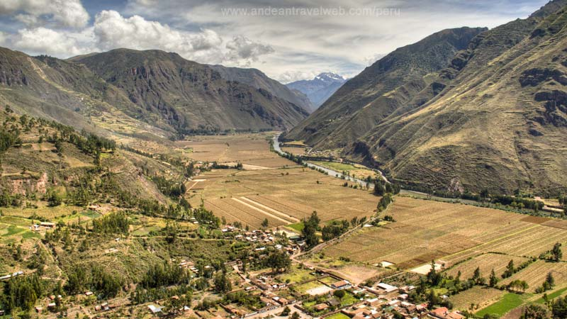 Sacred Valley, view from Pisac ruins